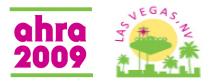 AHRA 2009