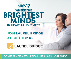 Laurel Bridge at HIMSS 2017 Booth 8166